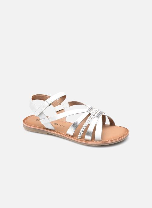 Sandales et nu-pieds Rose et Martin KOLETTE LEATHER Blanc vue détail/paire