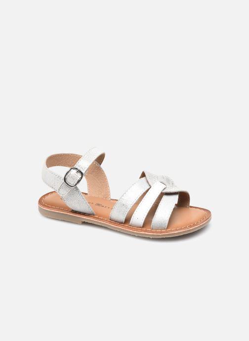 Sandales et nu-pieds Rose et Martin KIMIMI LEATHER Blanc vue détail/paire
