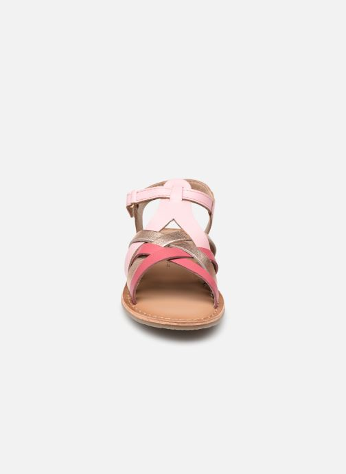 Sandales et nu-pieds Rose et Martin KOEUR LEATHER Rose vue portées chaussures