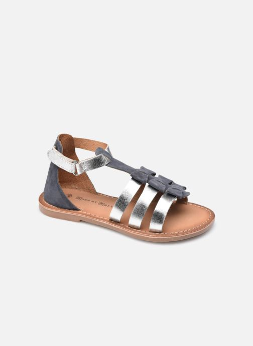 Sandales et nu-pieds Rose et Martin KEJOLIE LEATHER Bleu vue détail/paire