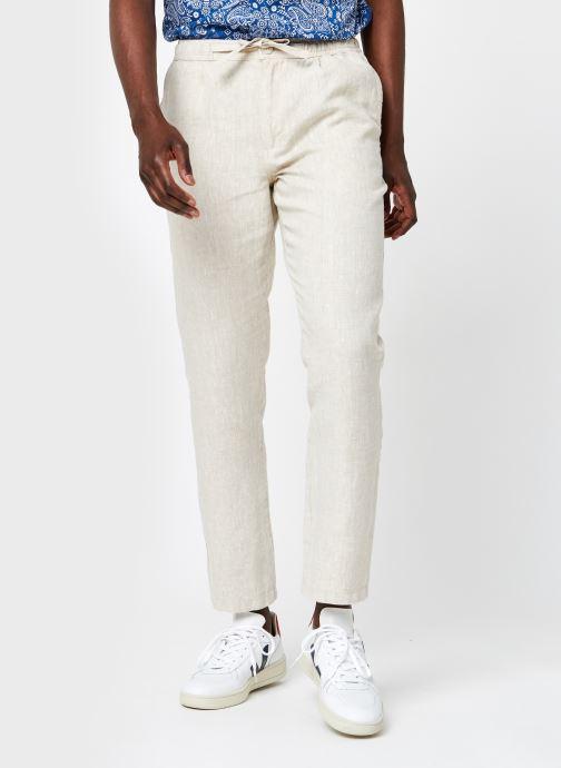 Kleding Knowledge Cotton Apparel Pantalon Fig Grijs detail