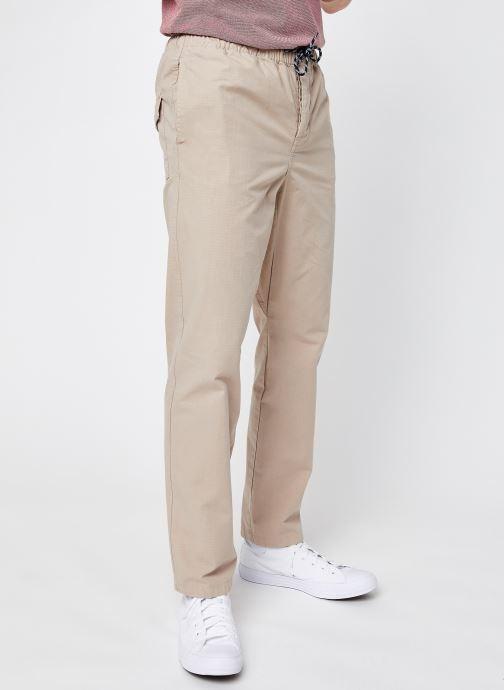 Kleding Knowledge Cotton Apparel Pantalon Birch Beige detail