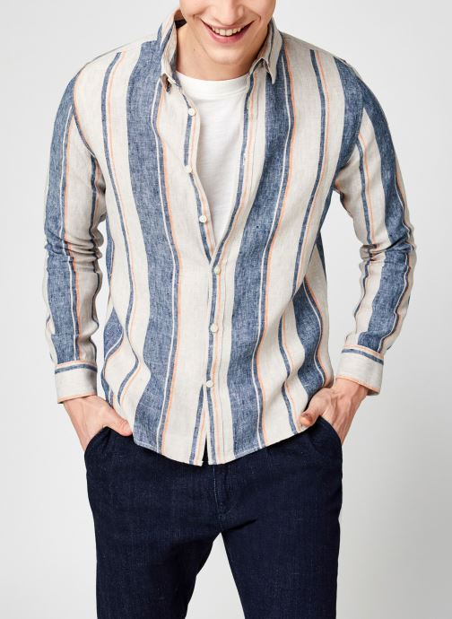 Chemise Larch Lin Rayures