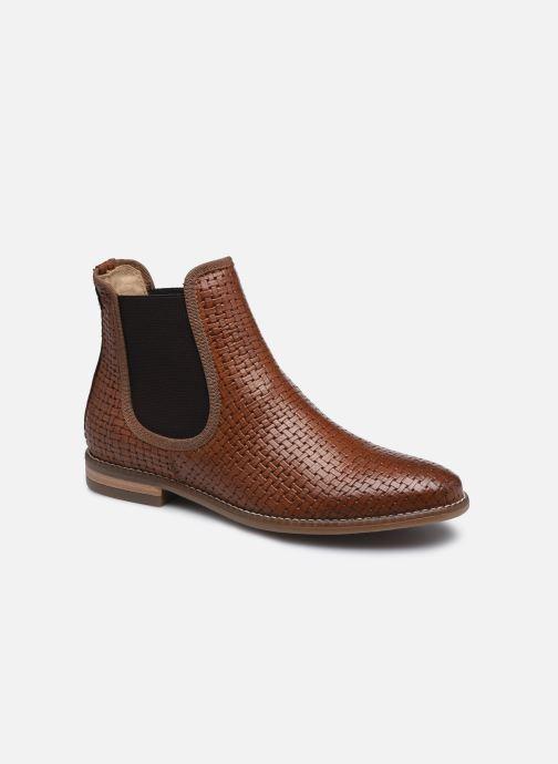 Bottines et boots Georgia Rose Navina Marron vue détail/paire