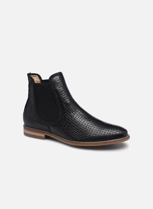 Bottines et boots Georgia Rose Navina Noir vue détail/paire