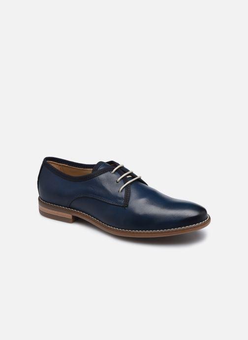 Chaussures à lacets Georgia Rose Nolah Bleu vue détail/paire