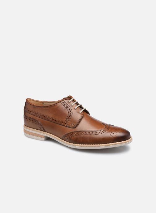 Chaussures à lacets Georgia Rose Nicou Marron vue détail/paire