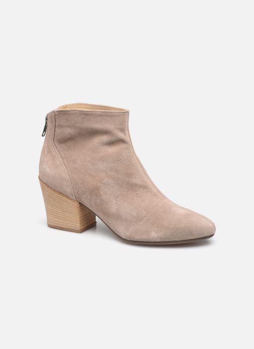 Bottines et boots Georgia Rose Natava Beige vue détail/paire