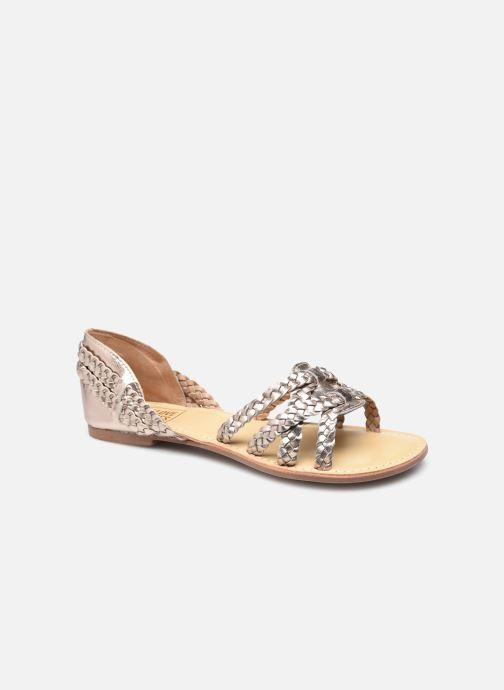 Sandales et nu-pieds I Love Shoes KILYA LEATHER Or et bronze vue détail/paire