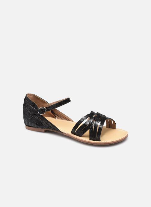 Sandales et nu-pieds I Love Shoes KARMA LEATHER Noir vue détail/paire