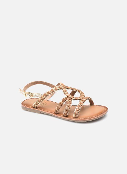 Sandales et nu-pieds I Love Shoes KENDAL LEATHER Marron vue détail/paire