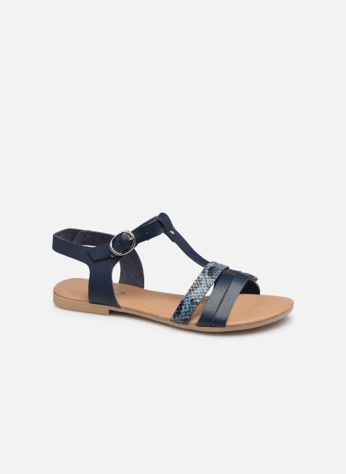 Sandales et nu-pieds Georgia Rose Dilopine Bleu vue détail/paire