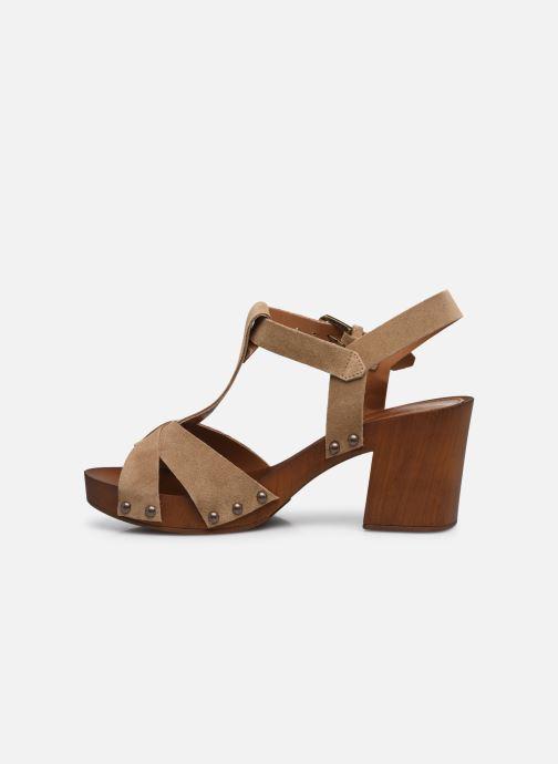 Sandali e scarpe aperte Georgia Rose Dariane Beige immagine frontale