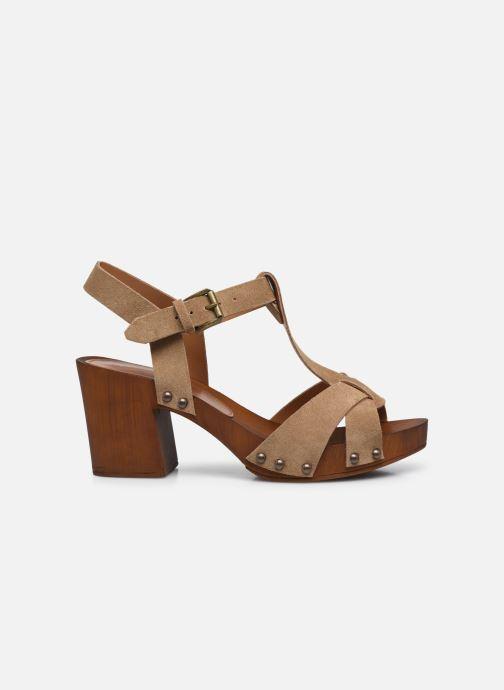 Sandali e scarpe aperte Georgia Rose Dariane Beige immagine posteriore