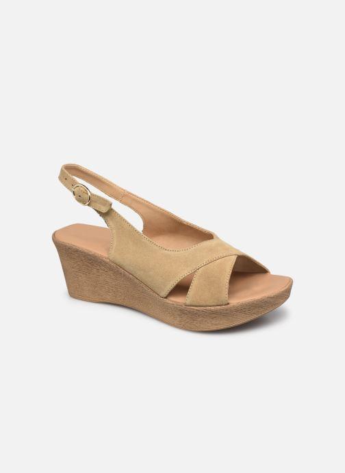 Sandales et nu-pieds Georgia Rose Danik Beige vue détail/paire