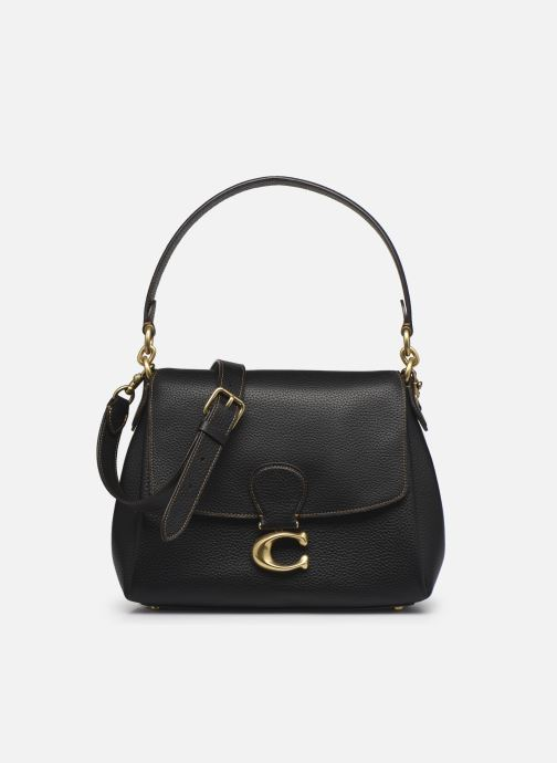 Sacs à main Coach May Shoulder Bag Noir vue gauche