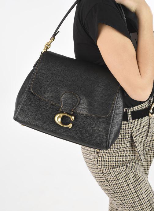 Sacs à main Coach May Shoulder Bag Noir vue bas / vue portée sac