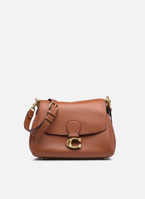 Handtassen Coach May Shoulder Bag Bruin detail