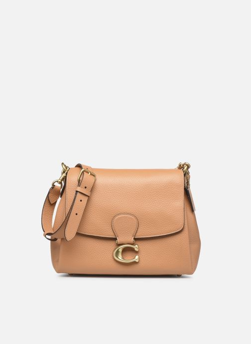Handtaschen Coach May Shoulder Bag beige detaillierte ansicht/modell