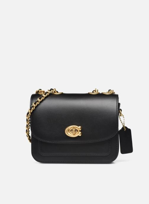Handtaschen Coach Madison Shoulder Bag 16 schwarz detaillierte ansicht/modell