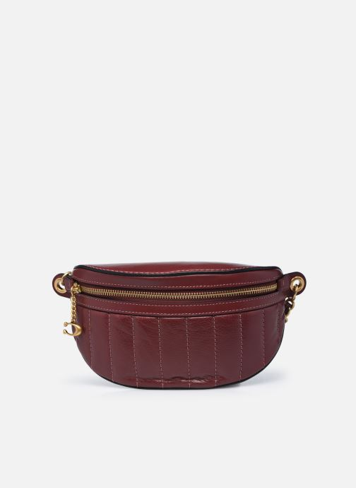 Sacs à main Coach Chain Belt Bag Bordeaux vue détail/paire