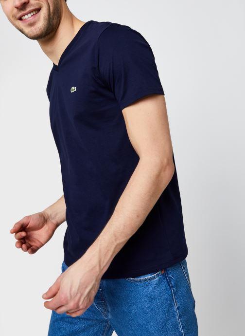 Vêtements Accessoires Tee-Shirt Classique MC TH6710 Lacoste