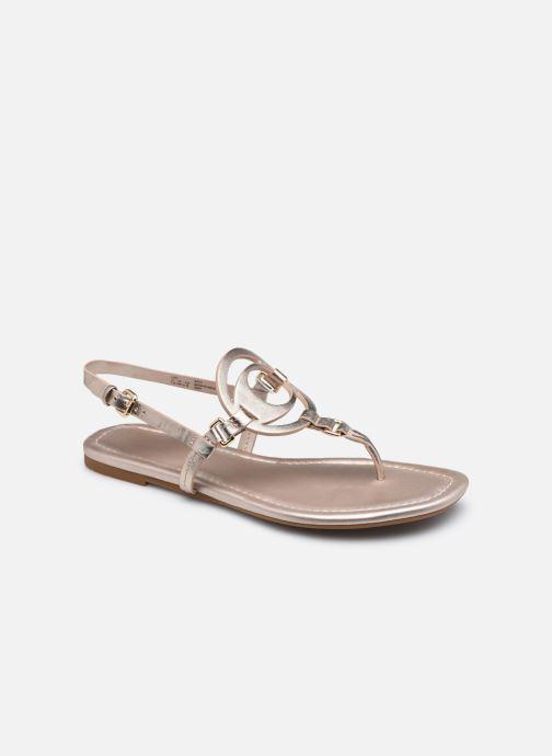 Sandales et nu-pieds Coach Jeri Leather Sandal Rose vue détail/paire