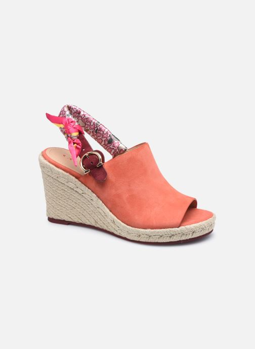 Scarpe di corda Donna Poppy Suede Wedge