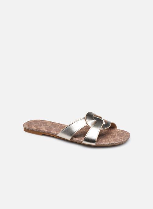 Clogs & Pantoletten Coach Essie Leather Sandal gold/bronze detaillierte ansicht/modell