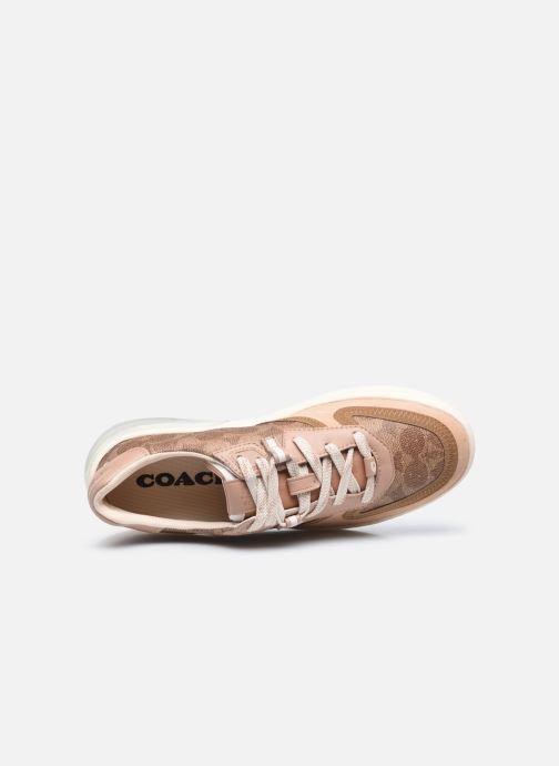Sneaker Coach Citysole Court braun ansicht von links