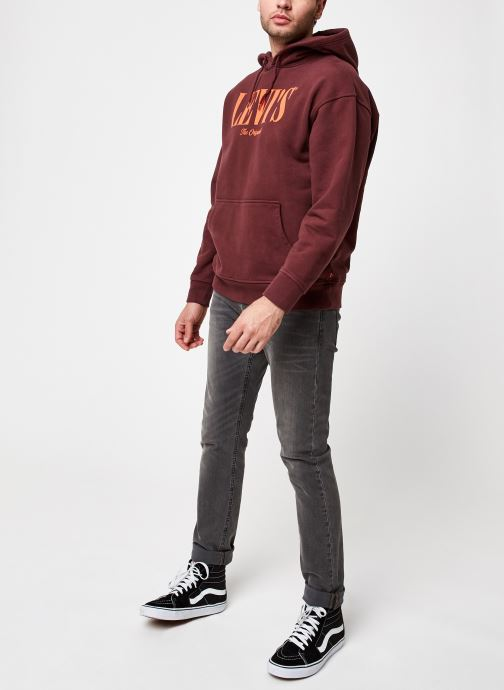 Kleding Levi's T2 Relaxed Graphic Po Rood onder