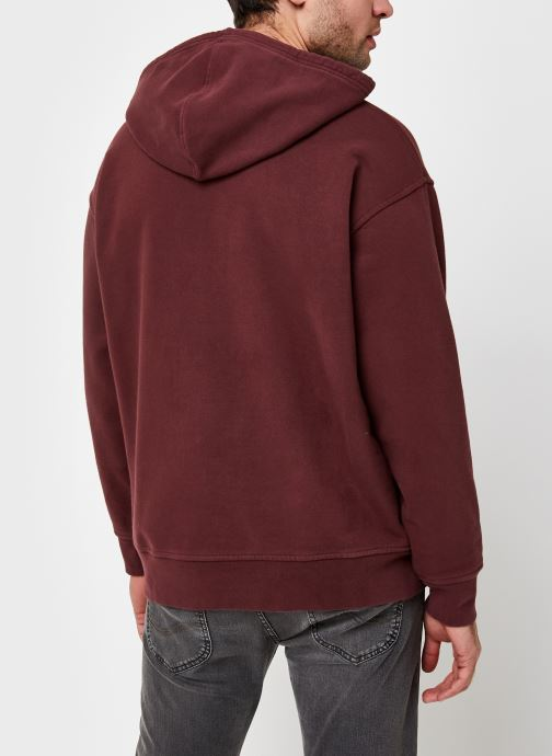 Kleding Levi's T2 Relaxed Graphic Po Rood model