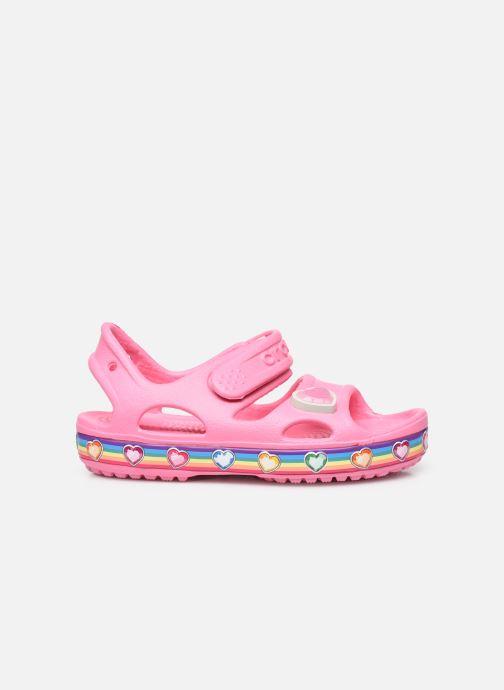 Sandalen Crocs Fun Lab Rainbow Sandal rosa ansicht von hinten