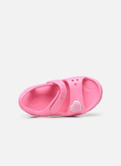 Sandalen Crocs Fun Lab Rainbow Sandal rosa ansicht von links