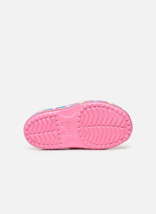 Sandalen Crocs Fun Lab Rainbow Sandal rosa ansicht von oben