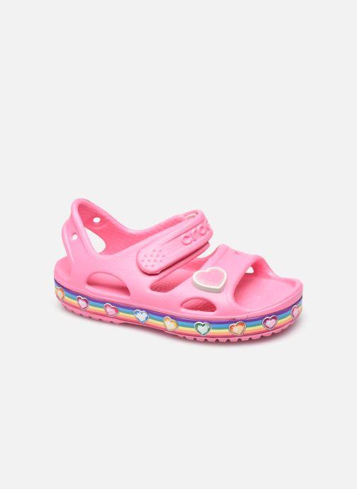 Sandalen Crocs Fun Lab Rainbow Sandal rosa detaillierte ansicht/modell