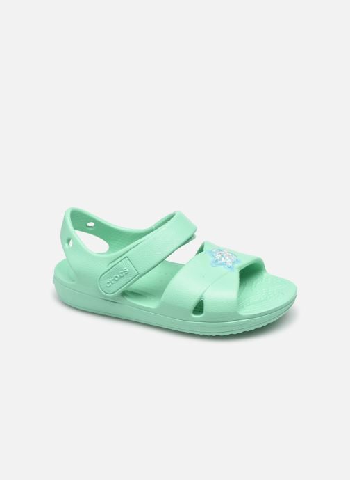Sandalen Crocs Classic Cross Strap Charm Sandal T blau detaillierte ansicht/modell
