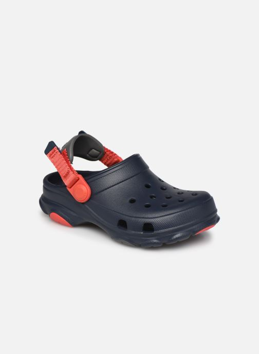 Sandalen Crocs Classic All-Terrain Clog K Blauw detail
