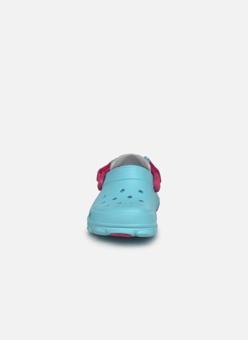 Sandalen Crocs Classic All-Terrain Clog K blau schuhe getragen