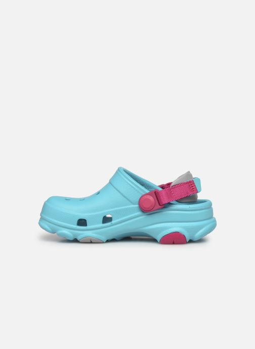 Sandalen Crocs Classic All-Terrain Clog K blau ansicht von vorne