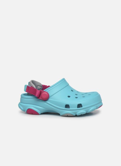 Sandalen Crocs Classic All-Terrain Clog K blau ansicht von hinten