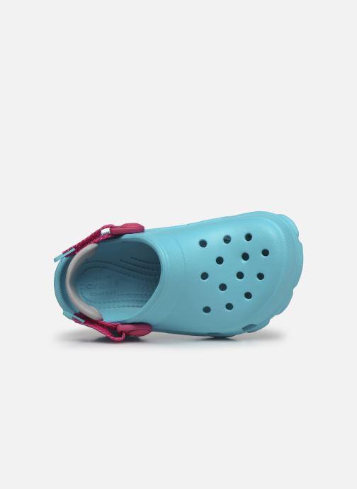 Sandalen Crocs Classic All-Terrain Clog K blau ansicht von links