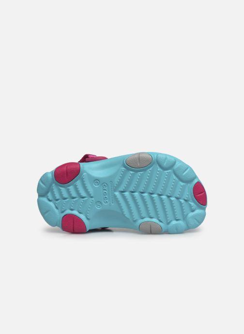 Sandalen Crocs Classic All-Terrain Clog K blau ansicht von oben