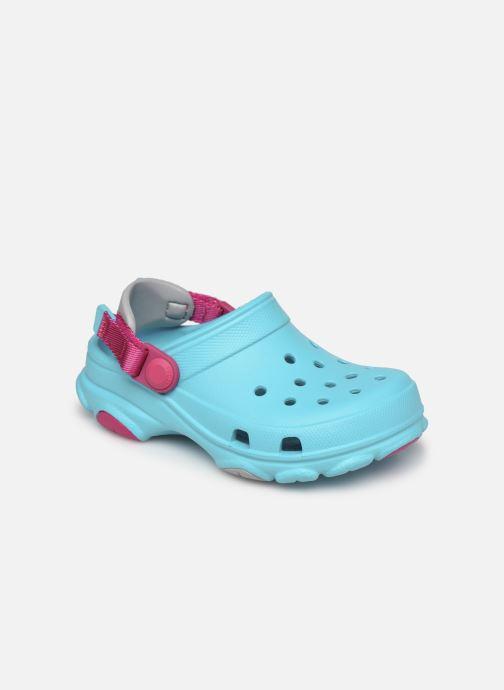 Sandalen Crocs Classic All-Terrain Clog K blau detaillierte ansicht/modell