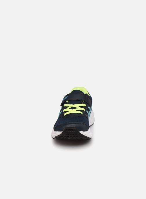 Chaussures de sport Asics JOLT 3 PS Bleu vue portées chaussures