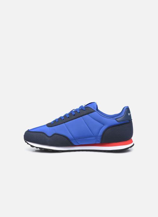 Sneakers Le Coq Sportif Astra Retro Azzurro immagine frontale