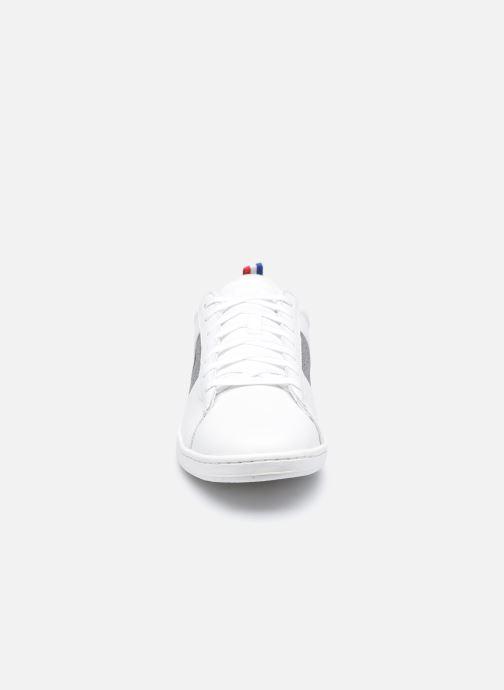Sneakers Le Coq Sportif Courtclassic Strap Bianco modello indossato