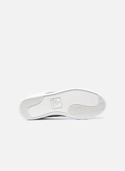 Sneakers Le Coq Sportif Courtclassic Strap Bianco immagine dall'alto