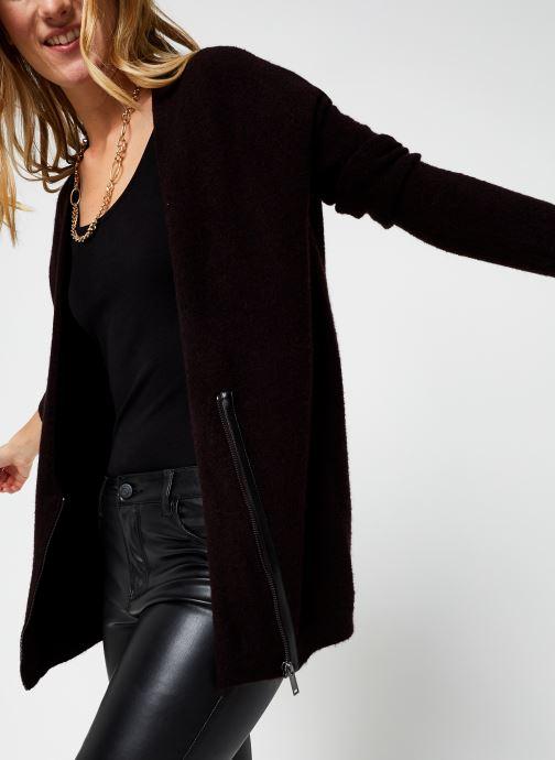 Kleding Accessoires Cardigan mi-long zippé