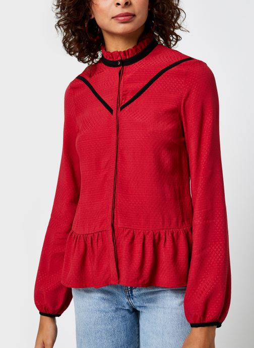 Kleding I.Code Top col montant Rood rechts